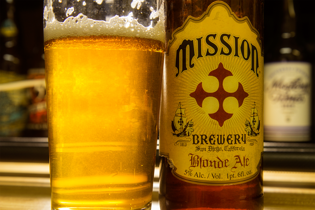 Mission Brewery Blonde Ale